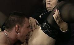 Dirty Old Slut Goes Crazy Jerking