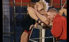 In this full length French movie the circus ring is the place for hot sex