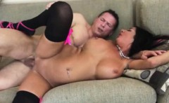 Big titty pornstar Milf Nadia Night hard pounded in her muff