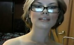 Nerdy Girl With Big Tits