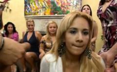 Undress dancer screwed at hen-party