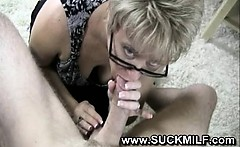 milf loves young cock meat in he rmouth