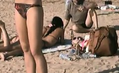 Naked Teen At The Beach
