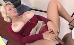 MILF Pleasing Her Boss