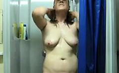 Girl Masturbating In The Shower