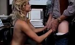 Blonde Slut Having Fun With The Boss