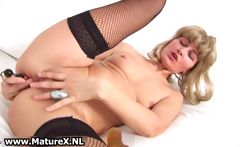 Horny older housewife gets
