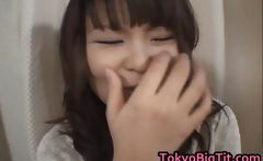 Airi Pretty Asian model can kiss her own