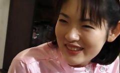 Japanese nurse gets horny cunt teased