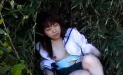 Teen asian gets rubbed for sex