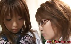 Hot Asian lesbians are teachers