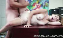 Very sexy amateur Natasha Malkova fucked and facialized on