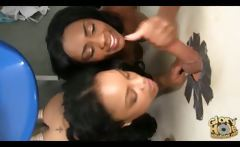 Ebony Chicks Love Gloryholes!
