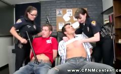 Horny police women find their targets and want to get rough