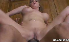 Sexy Kayla Quinn loving big cock
