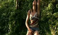 Spring Orgasm in Nature French Secretary