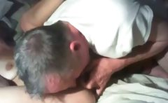 Grandpa Giving Grandma Oral
