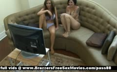 Two horny babes at home