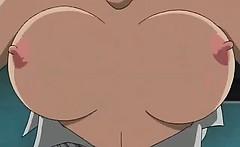Amazing anime babes suck stiff dick